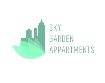 Building Apartment Logo Design - Pre-designed exclusive - leaf botanical logo