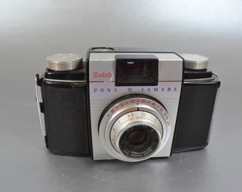 Kodak Pony II Film Camera - Check out all of our vintage cameras