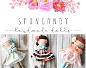 Custom Order SpunCandy Classic Doll