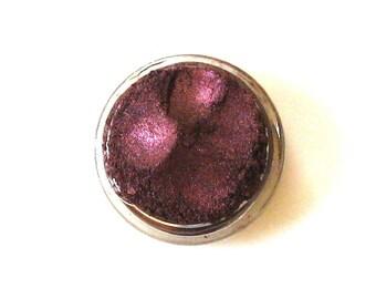 Natural Mineral Eyeshadow | Mineral Makeup | Mica Vegan Eyeshadow | Garnet