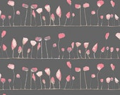Wonderland Petal Flamingoes in Coo, Katarina Roccella, Art Gallery Fabrics, 100% Cotton Fabric, WND-2535