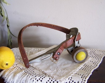 Antique Roller Skate = Upcycle Craft Object = Whimsical Project Prop