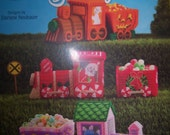Plastic Canvas Holiday Candy Express  Pattern Book