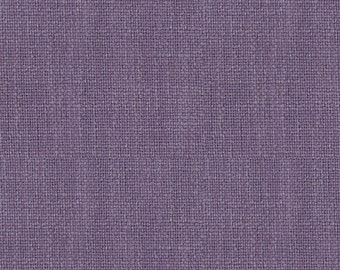 Heavy Linen Look Fabric for Drapery -Beautiful Drape- Attractive - Linen Blend. Fabulous for linen drapery -  Color:  Lilac -  per yard
