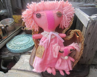 LIL FOLK DOLLS~ Baby Nursery decor~ New Mother Gift~ Personalized~ Mothers Day Gift~ Christmas Gift~