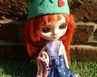 Blythe Cute Baggy, Spring Dungarees, Tee & Jumper (BD5616)