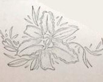 Overstock SALE: Unmounted Stamp Large Day Lily