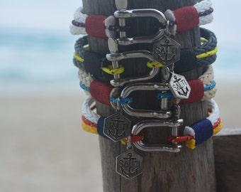 SALTI Stock DEAL! Nautical Bracelets (4 items)  '3rd Wave' Free Worldwide Unisex