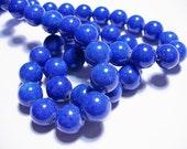 Jade Beads Blue Round 10MM