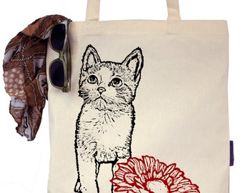 McGregor the Kitten - Eco-Friendly Tote Bag