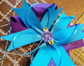 "5"" Stacked Boutique Hairbow"