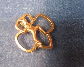 Copper Brownie Pin 1940's