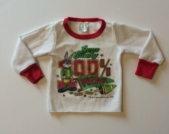 1990 Bugs Bunny Thermal Top (2t)