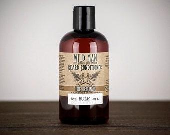 Wild Man Beard Oil Conditioner - BULK Refill - 8oz // 240ml - Beard Grooming