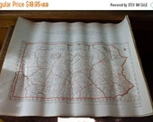 ON SALE William Faden Map of Pennsylvania, 1936 reproduction map