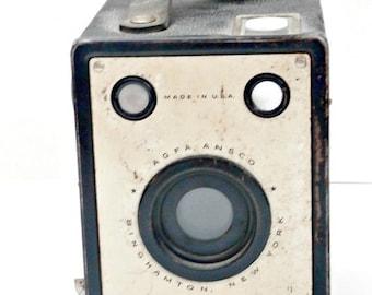 Sale Vintage AGFA ANSCO Shur Shot Box Camera USA antique retro collectible camera
