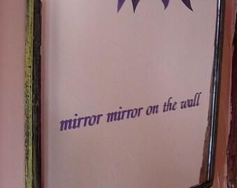 Vintage Embellished Wall Mirror