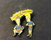 Beavis and Butthead Hat Pin Grateful Dead