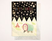Happy Travels Card (A6)
