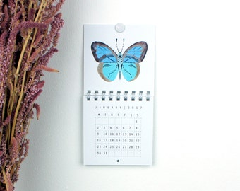 2017 Mini Wall Calendar - Insects and Prisms