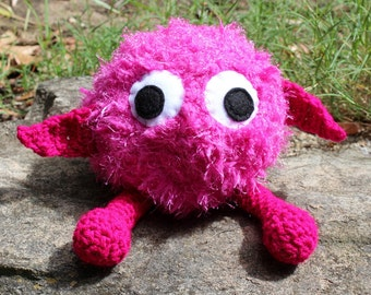 Rolo-Monster Alien Crochet Plushie Soft Toy