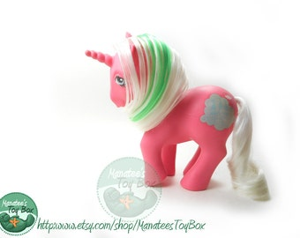 My Little Pony Cloud Dreamer Magic Message Pony: Vintage 80s Hasbro Toy