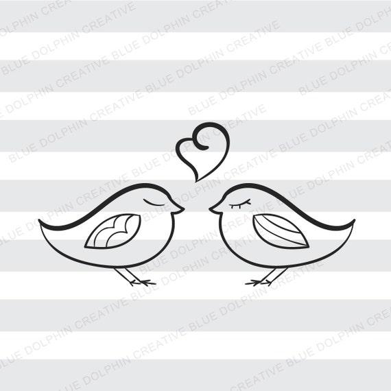 Love Birds Svg Png Pdf Wedding Cut Files Cricut