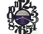 Handmade Vinyl Record Wall Clock Hanging Clock  (artist is Diana Ross)
