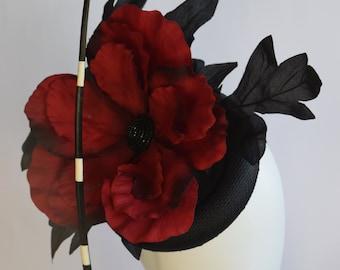 Justine Bradley-Hill Poppy Headpiece
