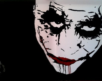 why so serious? joker portrait