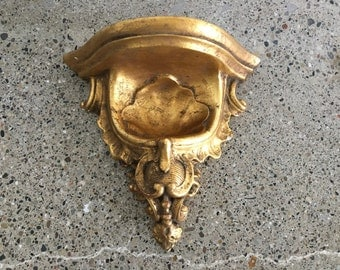 Antique Gold Wall Hanging Mantle