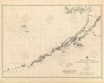 Alaska Peninsula & Aleutian Islands – 1896