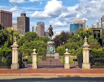Photograph of Boston Public Garden