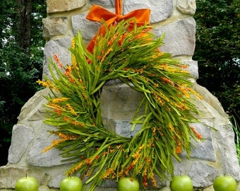 Fall Wreath - Fall Door Decor - Autumn Door Wreath