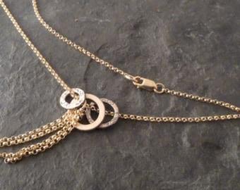 Amrita Necklace ~ Gold Fringe