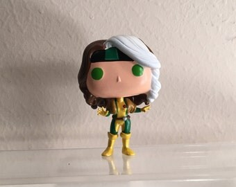 Made to order Rogue xmen  custom resin funko pop allow 3 weeks for shipping