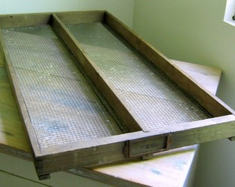 Vintage Tobacco Drying Tray