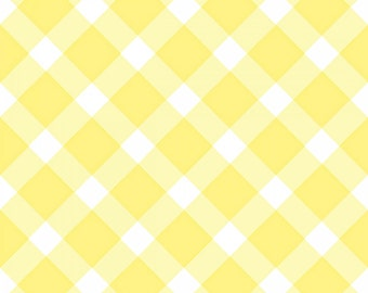 Sanyu - Yellow Check from 3 Wishes Fabric