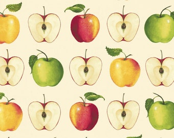A Day on the Farm - Apples Multi from Red Rooster Fabrics