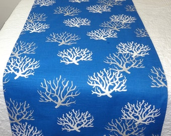 Decorative Coral Nautical Bed Runner King Queen Full Twin Bedding Bed Scarf  6 Colors & All Sizes