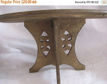 Valentine SALE Victorian Doll Furniture Gilt Table Hand Carved doll house