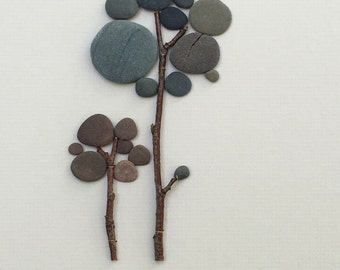 12 by 16 pebble art of NS by sharon nowlan