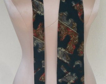 Vintage Neck Tie Christian Dior Silk Made in Italy