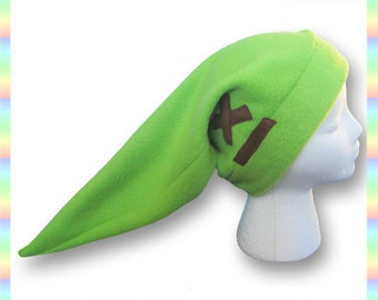 Link Hat - Soft Fleece Anime Green Geeky Cute Kawaii Legend of Zelda Child Teen Adult