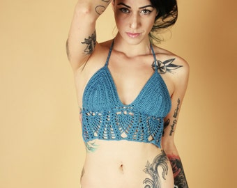 crochet summer bikini  top