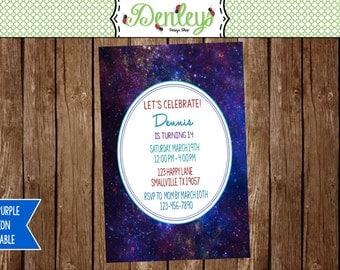 Galaxy Invitation (GA02)