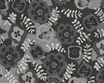 Fat eighth Takashi D, Monochrome Liberty of London black, grey and white Liberty print