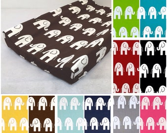 Customize Changing Pad Cover Choose Elephant Color