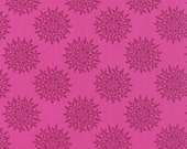 Magenta Sedum  Floral Fabric - Canyon by Kate Spain from Moda 1/2 Yard