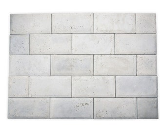 Concrete tiles, unusual tiles, original
